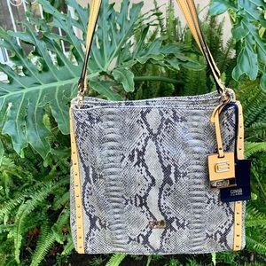 Roberto Cavalli Class phyton handbag